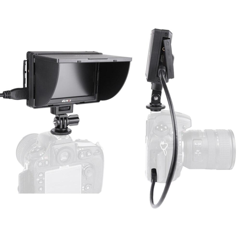 Viltrox DC 50 Viltrox DC-50 Portable 5 Inches Screen 480P Clip-on Color LCD Monitor HDMI for Camera Photo Studio Accessorie L3FE