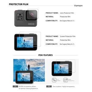 Image 5 - Vamson for Gopro 7 6 5 Accessories Set Waterproof Housing Protection case Monopod for Gopro hero 6 5 Sport Camera Vamson VS10