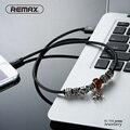 Remax original rápido carregamento de 8 pinos cabo usb cabo de dados 2.4a veneno cabos carregador de sincronização para apple iphone 7 6 s plus 6 i5 para ipad