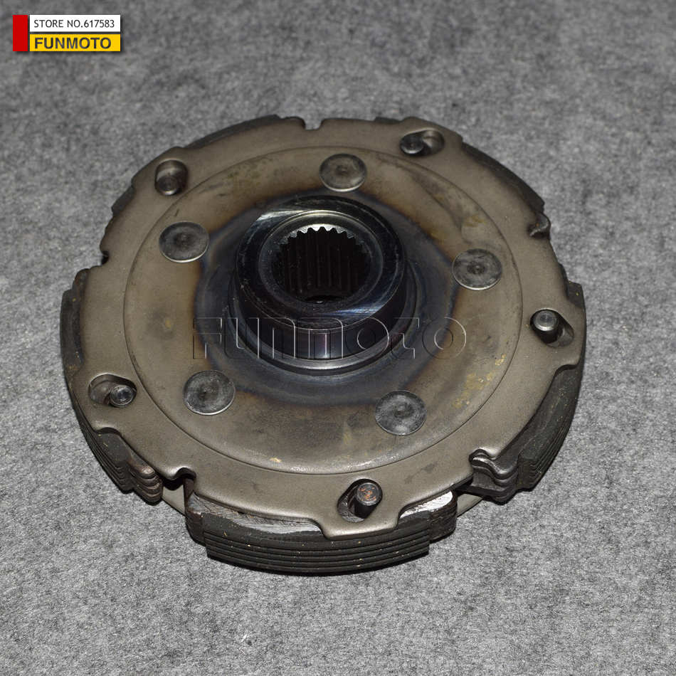clutch assy of JS400ATV AND BASHAN 400CC ATV parts code is F3-414000-0 clutch assy of js400atv and bashan 400cc atv parts code is f3 414000 0