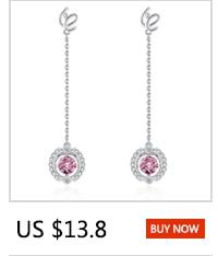 Warme Farben 925 Sliver Women Earrings Made With Swarovski Crystal Elegant Pearl Drop Earrings Fashion Jewelry Wedding Earrings