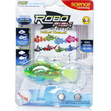 1pcs Colorful Battery Powered Robo Fish