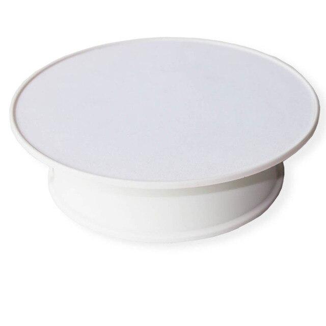 8 inch Белый Базы вращающийся базы для phote кадр или мелких инструментов или шляпу с белым цвета бесплатной доставкой