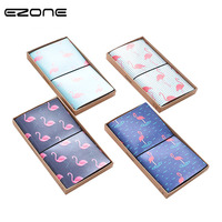 EZONE The Strolling Flamingo Planner Notebook Diary Book Exercise Composition Binding Note Notepad Stationery School Supplies
