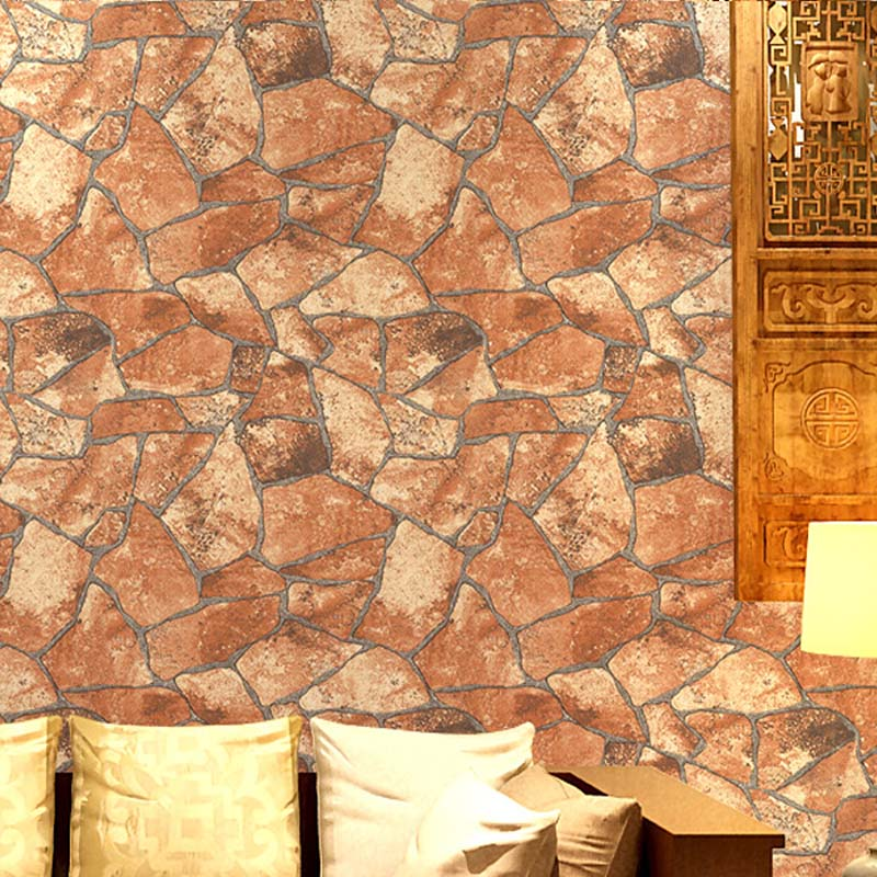 Thicken 3d rock wallpaper for walls vintage stone wall for 3d rock wallpaper