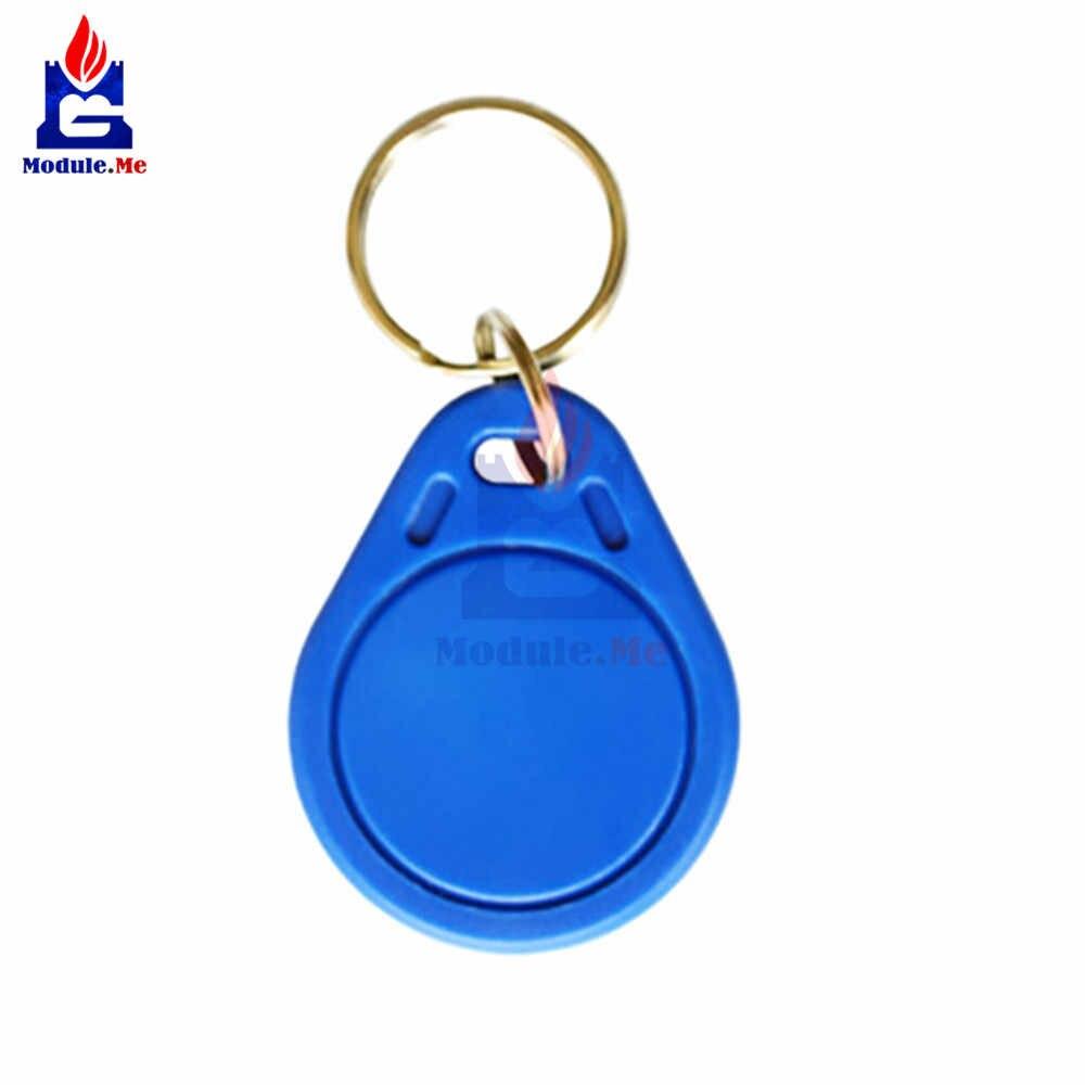 5 قطعة/الوحدة UID IC بطاقة للتغيير للكتابة Keyfobs العلامات الرئيسية M1 13.56MHz تتفاعل NFC Keyfobs كتلة 0 قطاع للكتابة