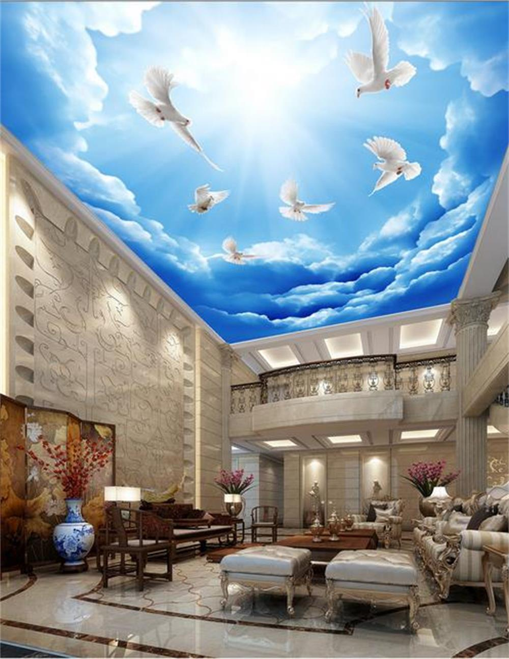 Online Buy Grosir Biru Hotel Bar Ktv Wallpaper From China Biru