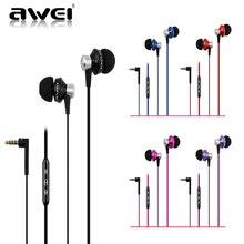 Awei ES950vi Stere Universal Super Bass 3.5mm in-ear Headsets Earphone earphone