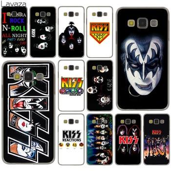 Lavaza Gene Simmons beso banda funda para Samsung Galaxy S20 Ultra S10 Lite S10E S6 S7 borde S8 S9 más A51 A71 A81 A91