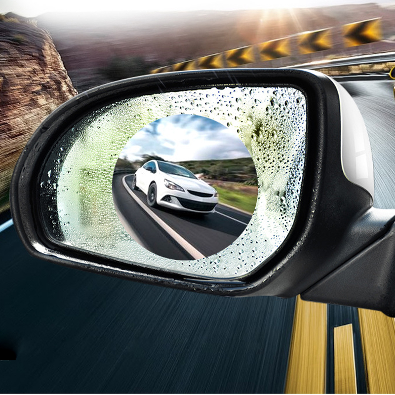 Car Rearview Mirror Waterproof Anti-Fog Film For <font><b>Honda</b></font> civic accord <font><b>crv</b></font> fit jazz city hornet hrv Subaru Forester Impreza Outback image