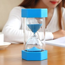 30 Seconds 1/2/3/10 Minutes 15/20/30/45/60 Sand Hourglass Timer Sandglass Modern Home Decoration Gift