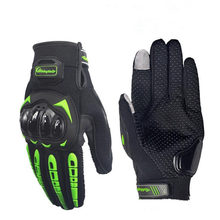 PRO-BIKER Motorcycle Full Finger Gloves Offroad Racing Motocross Dirt Bike Riding Ski Scooter Cross Protective Gloves MCS-17(China)