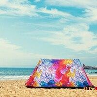 Пляжный стул Приют Портативный водонепроницаемый ветрозащитный складной тент анти УФ Непрозрачный коричневый тент наружная мебель палатк