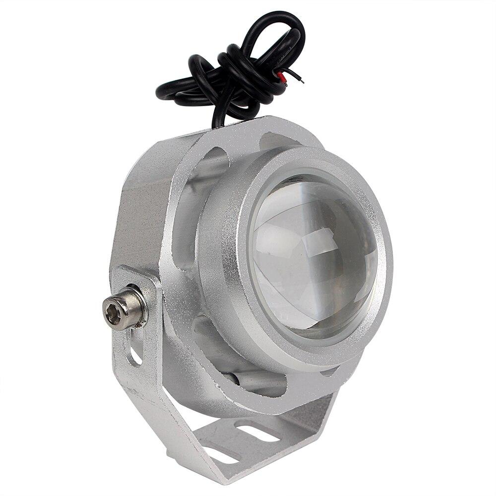 Plata/Negro Car-styling Eagle Eye Lámpara de piezas de Repuesto de Automóviles D
