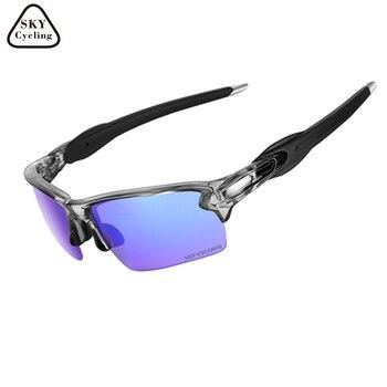 4f270b9339 PRIZM Golf Ciclismo gafas 3 lentes polarizadas bicicleta gafas de sol  hombres/mujeres deportes gafas Oculos Ciclismo para montar