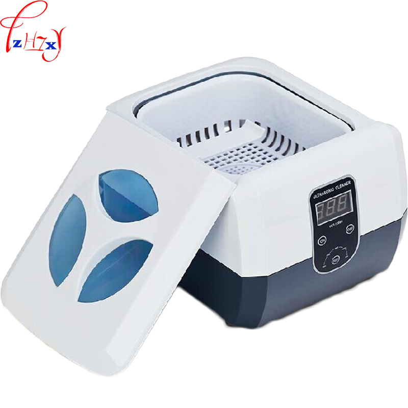 Small desktop digital display ultrasonic cleaning machine glasses dental jewelry ultrasonic cleaning machine 110/220V 60W