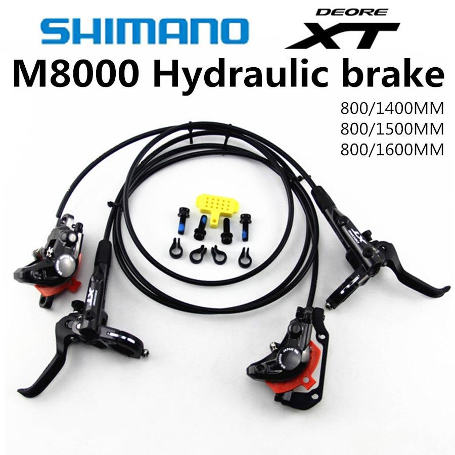 SHIMANO DEORE XT M8000 M8100 Brake Mountain Bike XT Hidraulic Disc Brake MTB ICE TECH Left