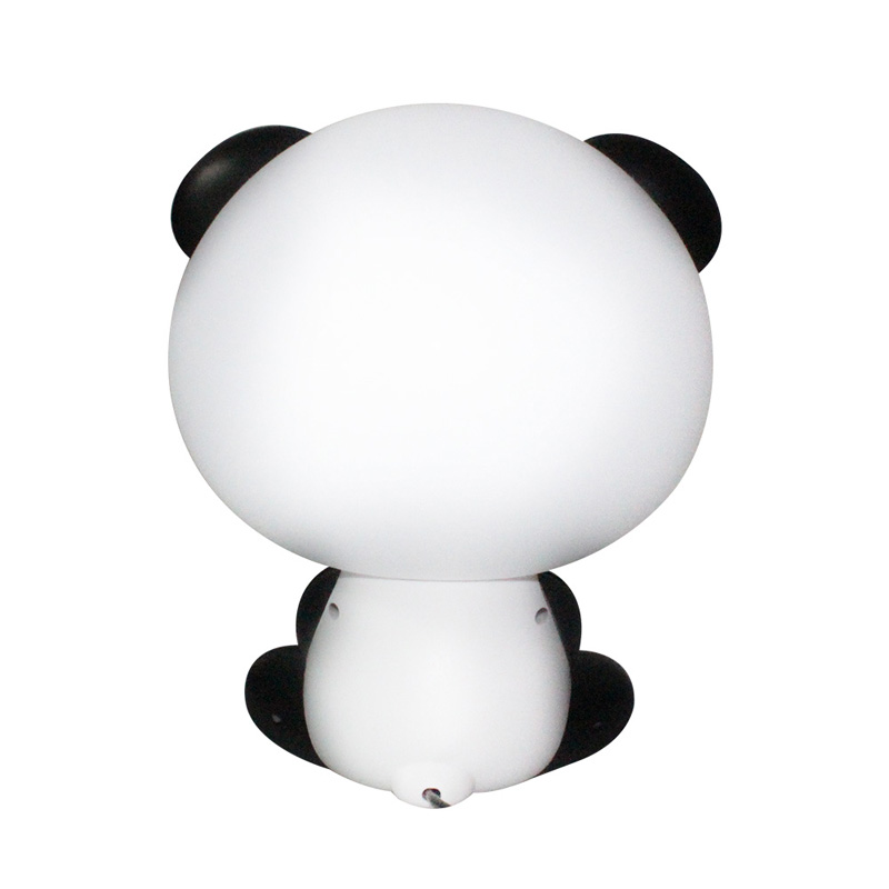 Panda Night Light Baby Bedroom Lamps Night Light Cartoon Pets Panda Unicorn Sleep Led Kid Lamp Bulb Table Lamps For Children Gif