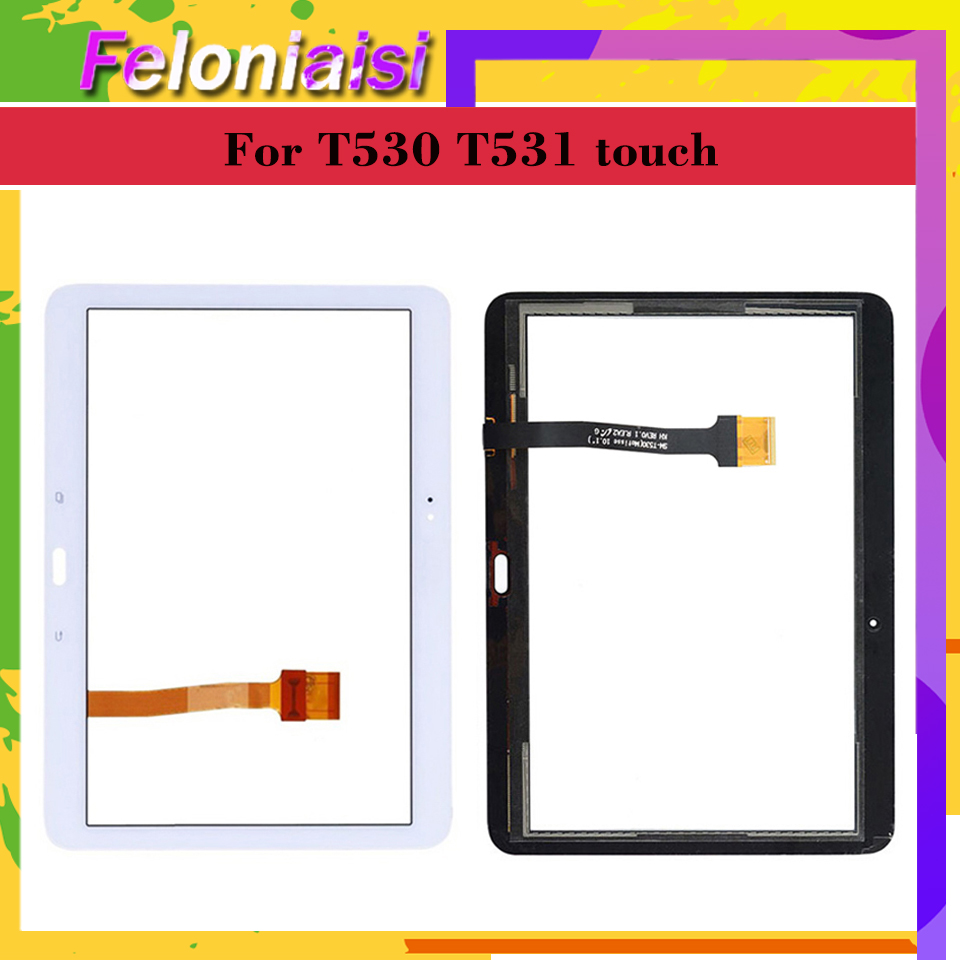 Original For Samsung Galaxy Tab 4 10.1 SM T530 T530 SM T531 T531 T535 Touch Screen Digitizer Panel Sensor Touchscreen|Tablet LCDs & Panels| |  - title=
