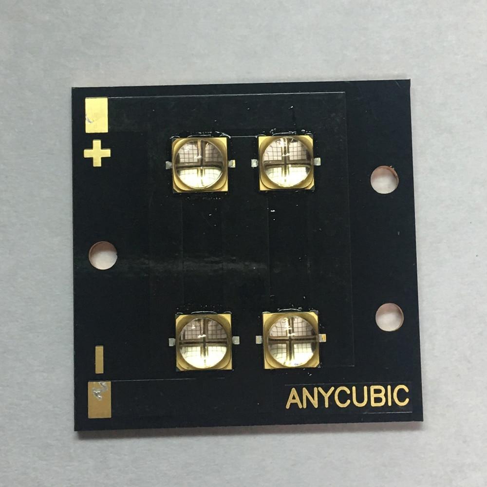 NEW 40W 6565 UV LED Lamp 365nm 380nm 395nm 6565 Led 40W 45mil 2400ma High Power Light 20pcs 1w 3w uv led 380nm high power leds original 45mil taiwan epileds chips high quality