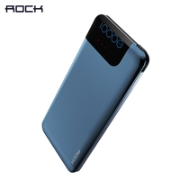 ROCK Fast Charge QC3 0 10000mAh Power Bank Portable Slim Quick Charge 3 0 Power Bank