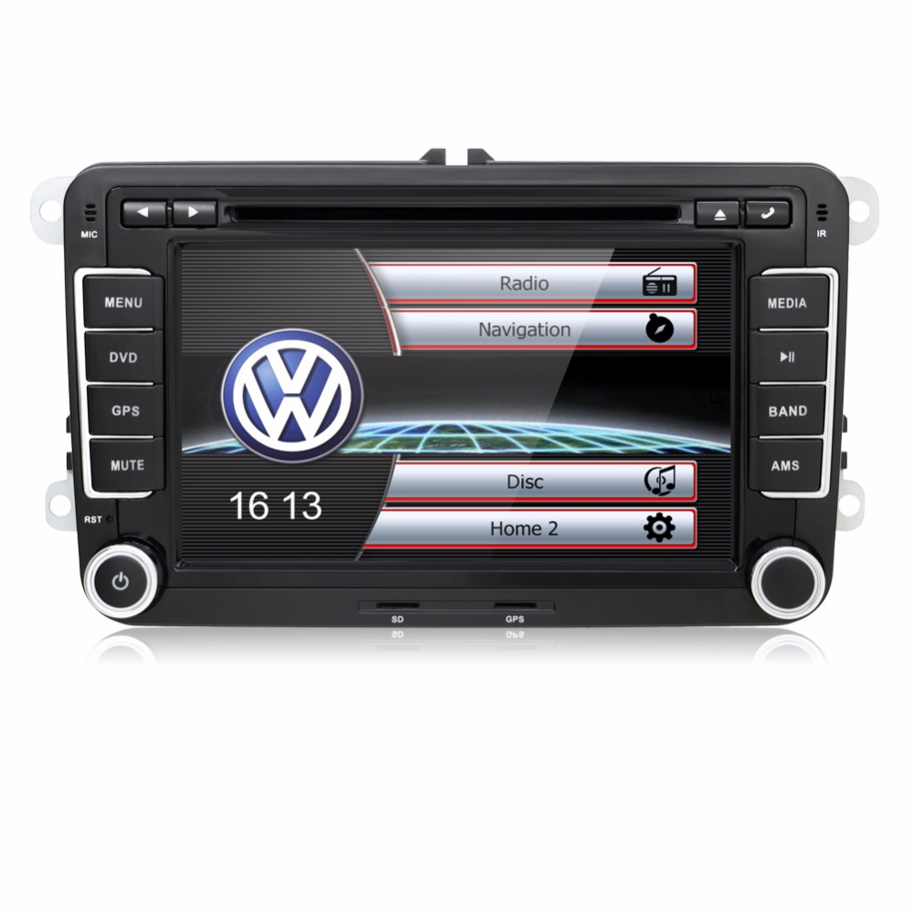2 Din 7 Inch Car DVD Player For Skoda/Octavia/Fabia/Rapid/Yeti/Superb/VW/Seat With Wifi Radio FM GPS Navigation free Map эмблема для авто vw original oem vw skoda skoda fabia octavia roomster