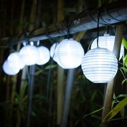 Lantaarn 10 LED Solar String Lights Zonne energie Christmas Light Decoratieve Verlichting voor Thuis Tuin Patio Lawn Party Decoratie-in Zonnenlamp van Licht & verlichting op