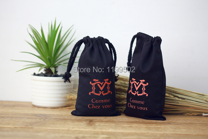 8*10cm high quality drawstring bags for christmas gifts\jewelry\necklace\coffee baen packaging pouches\bags wholesale customize