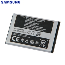 Original AB463446BU Battery For Samsung X520 F258 E878 S139 M628 E1200M E1228 X160 AB043446BE AB553446BC Phone 800mAh