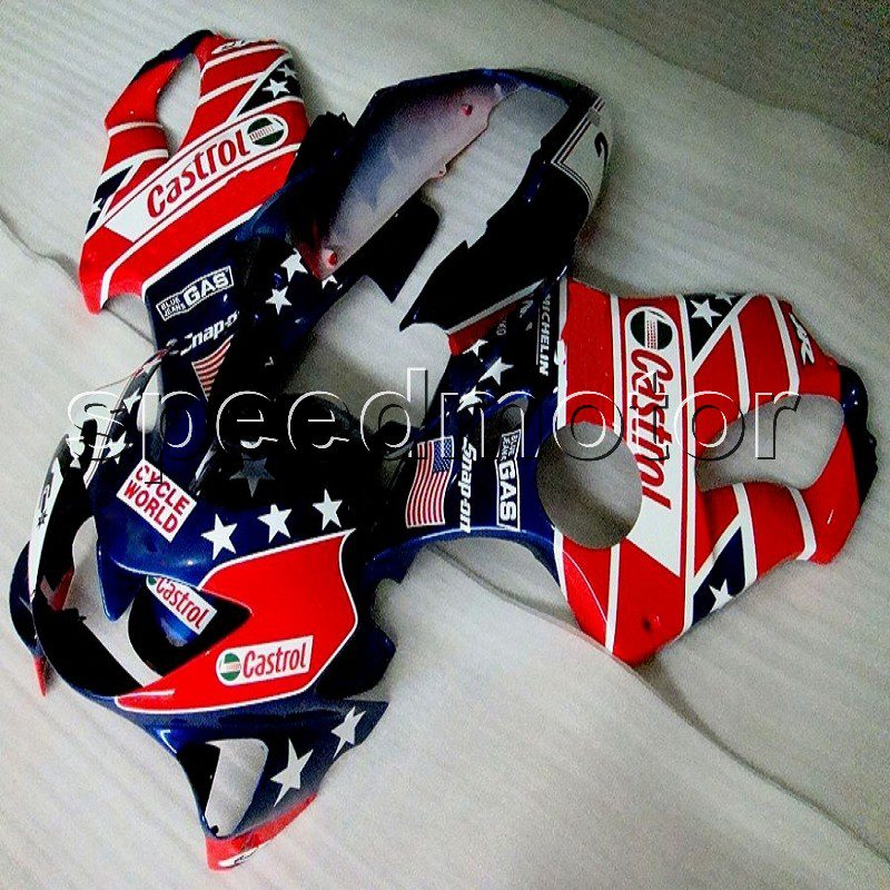 Custom+5Gifts+NEW Injection mold ABS plastic cowl CBR 600 F4 99-00 star red motorcycle Fairing for Honda CBR 600F4 1999 2000 new injection plastic mold for vehicle portable heater case china supplier
