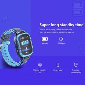 Image 5 - GPS Smart Watch Kids Camera IP67 Waterproof Wifi Tracker Phone Smartwatch Children SOS Monitor Positioning Watch 500mAh Battery