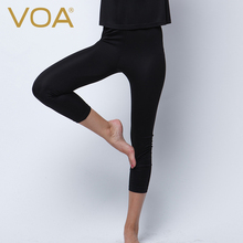 VOA 2017 Europe New Fashion Women's Leggings And Fitness Legging Bottoming High Quality Casual Trousers K5069
