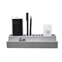 Уникальный офис, бетон ящик для хранения Творческий многофункциональный карты телефон ручка цемента коробка для хранения