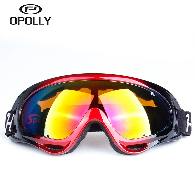 Outdoor Sports Eye Protection Glasses For Women Men Winter Skiing Antifogging Dustproof Goggles Eyewear Motocross Helmet Glasses