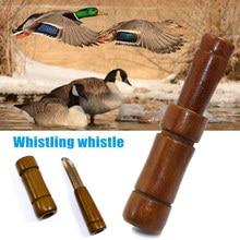 Дерево утка охотничий зов свисток Mallard Buck свистки для собак охотничий инструмент DX88
