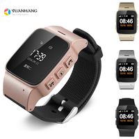 D99 Elderly Kids GPS LBSTracker Android Smart Watch for Map SOS Wristwatch GSM Wifi Safety Anti Lost Locator Watch PK D100