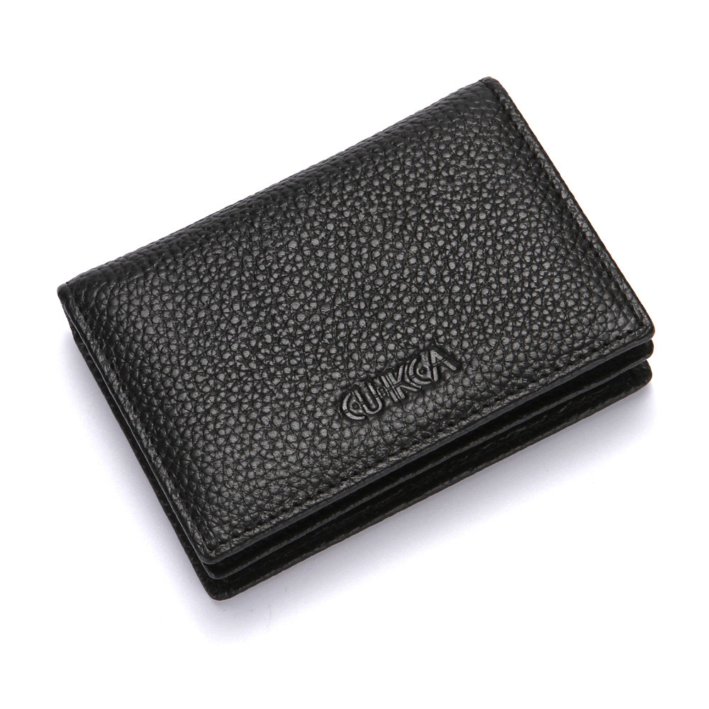 Tribal2 Genuine Leather Small Framed Wallet Personalized
