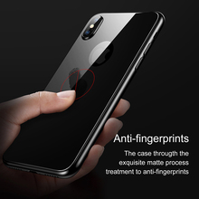 Back Tempered Glass Protector – For iPhone X