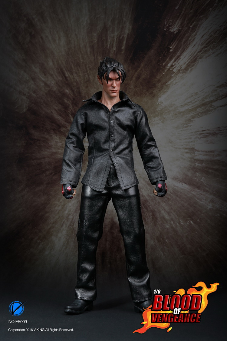 1/6 scale male figure Accessory Tekken JIN KAZAMA clothes with head for 12 Action figure doll accessories,Not included body 1 6 scale male full set action figure with accessories us 90s lapd swat kenny figure model toys with clothes