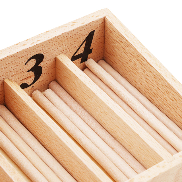 Wooden Montessori Counting Toy Set