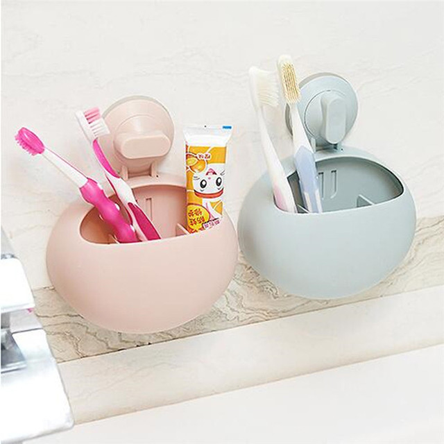 1PC Toothbrush Toothpaste Holder Makeup Brushes Hair Comb holder Stationery Tableware Home Bathroom Accessories