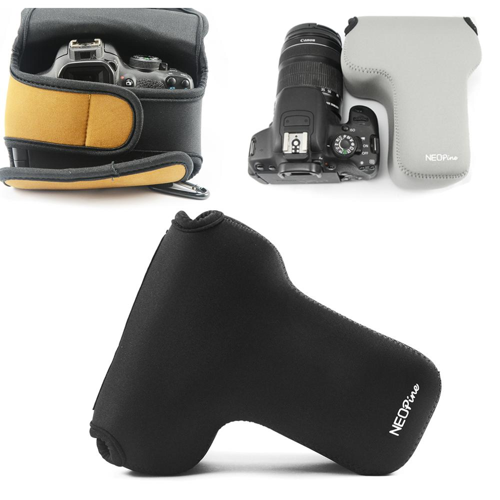 Neoprene Camera <font><b>Case</b></font> Bag for <font><b>Nikon</b></font> D5600 D3500 D3400 D5500 D3300 D5300 D5200 D3200 D7500 D7200 D7100 D7000 D5100 <font><b>D3100</b></font> D3000 D50 image