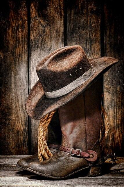 Top Art Painting American West Culture Quot Cowboy Hat Amp Boot