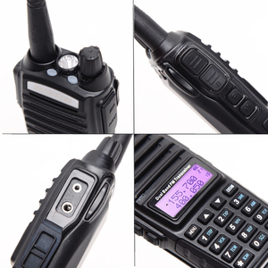 Image 4 - 2pcs BaoFeng UV 82 5W Walkie Talkie Dual Band VHF/UHF Double PTT BAOFENG uv 82 Amateur portable Radios