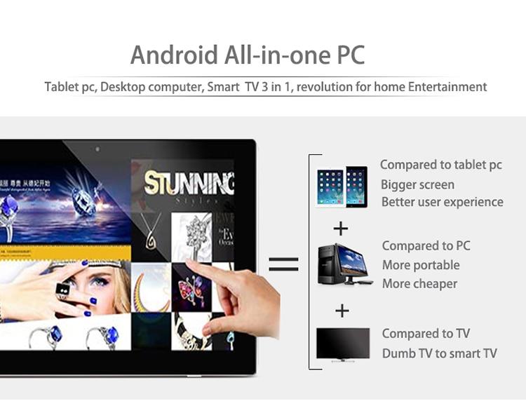 Capacitivo Android 4.4 Tudo Em Um PC