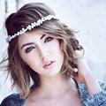 Alta Calidad Novia Hairband de La Perla de Compromiso Romántico Banquete Florista Diadema Tiara Moda Femenina Diaria CY161117-112