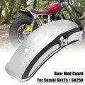 Заднее крыло для мотоцикла из нержавеющей стали  брызговики для Suzuki GN125/GN250