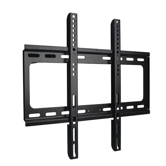 """2016 LCD LED Plasma Flat Tilt TV Wall Full Mount Bracket 26""""~55"""" Steel Support 30kg Monitor Stand Mount 26 29 34 38 42 50 51 56"""