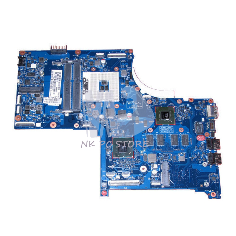 720269-501 720269-001 Notebook PC Motherboard For HP ENVY 17-J Main board 6050A2549601-MB-A02  GT740M 2G DDR3 nokotion original 773370 601 773370 001 laptop motherboard for hp envy 17 j01 17 j hm87 840m 2gb graphics memory mainboard
