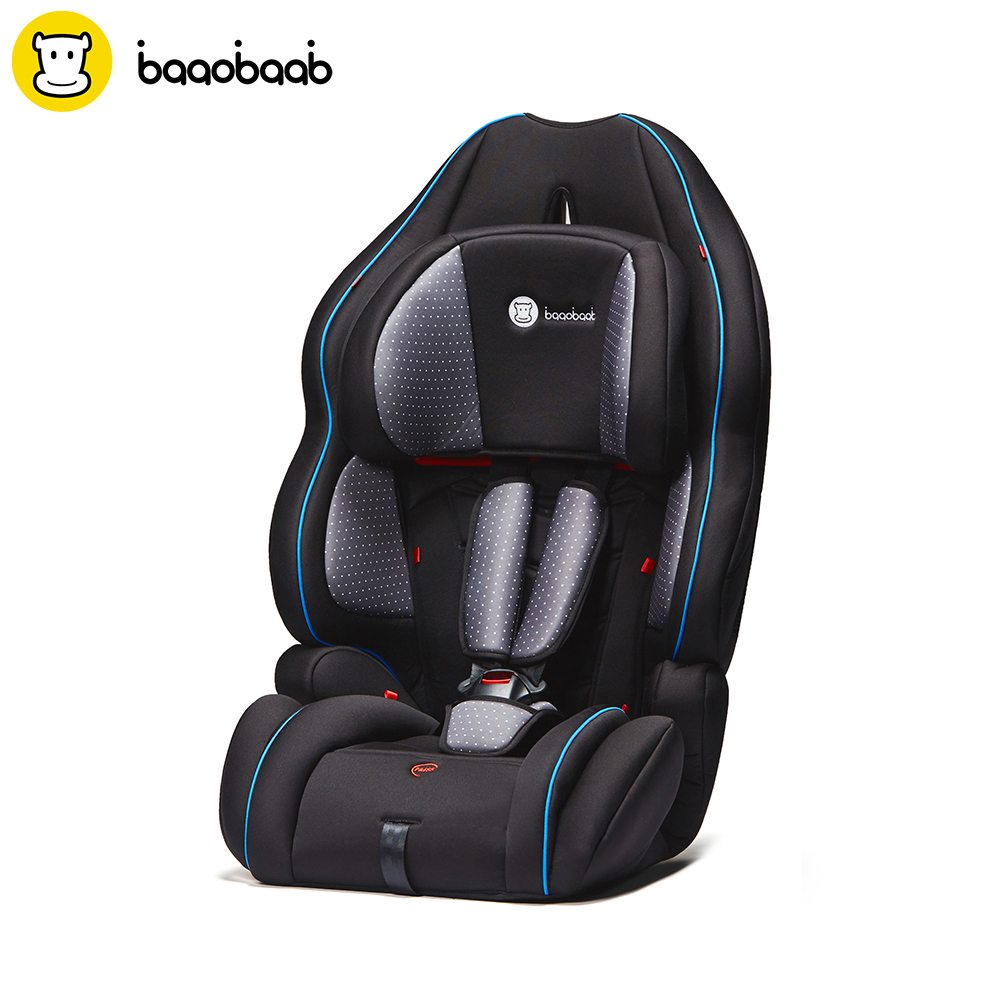Baaobaab 728 3 in1 Baby Child Car Seat 9-36 kg Forward Facing Safety Chair Booster Seat Group 1/2/3, 9 months to 12 Years Old car seat